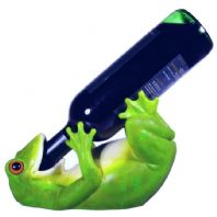 Guzzlers Frog Wine Bottle Holder